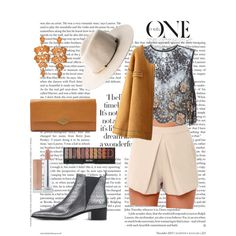 Untitled #52 by clara-prieto-puigmarti on Polyvore featuring polyvore, fashion, style, Alessandra Rich, Lush, Acne Studios, FOSSIL and MANGO