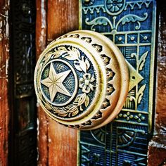 Eastlake doorknob. It would be so great if we paid attention to those little things we see every day, and tried to make them beautiful.