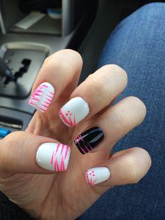 Spring nails #spring #acrylic #nails
