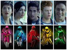 Mystic Rangers. (Left to right) Vida, Madi, Nick, Chip, and Zander