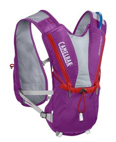 CamelBak 2016 Marathoner Hydration Vest, Purple Cactus Flower/Flame Scarlet. Our best-selling Vest, the marathoner is for the runner who wants a low-profile solution and Minimalist storage. Antidote reservoir features: Quick Link system, easy open/close cap, lightweight fill port, Dryer arms, center baffling and low-profile design. Features adjustable harness with cargo pockets, integrated reservoir compression, sweat-proof phone pocket, external fill. Designed to carry water bottle…