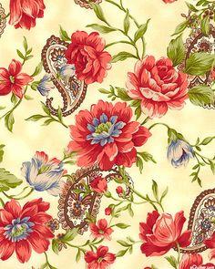Heart & Home - Floral Dreams - Cream