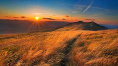 Bieszczady - najdziksze polskie góry.