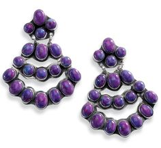 purple passion earrings  http://www.crowsnesttrading.com/product/11848/77#.T8Lgm_A-GdA.pinterest