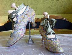 Abend Schuhe alte Schuhe Edwardian Schuhe antike von MadameFlorence