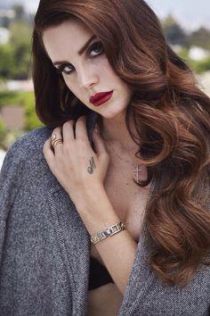 Lana Del Rey by Francesco Carrozzini for L'Uomo Vogue Magazine, 2014 #LDR