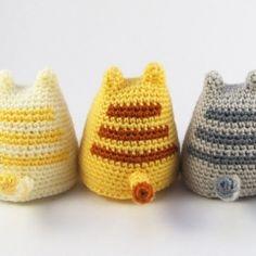Dumpling Kitty amigurumi pattern by