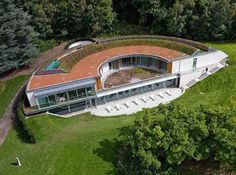 Coworth Park Hotel eco-spa green roof