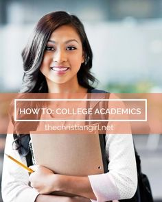 3 Tips from a College Girl: how to succeed academically in college. | www.thechristiangirl.net college student resources, college tips #college
