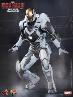 Iron Man Mark XXXIX - Starboost deep space suit