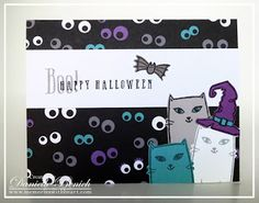 CTMH: August's Stamp of the Month: Purr-fect Halloween