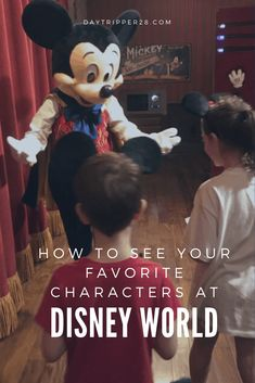 Meeting Characters at Disneyworld can sometimes be stressful. Thankfully I've got some shortcuts to help you avoid lines and get the prefect picture. Disney World Disney World Resorts, Disney Vacations, Walt Disney World, Disney Pics, Disney Pictures, All Family, Family Travel, Disney World Characters, Disney Cast Member