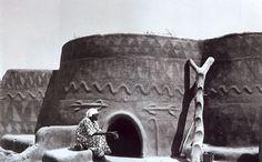 Africa  Mud architecture, Batammaliba house