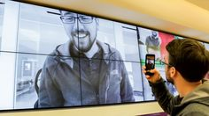 Microsoft snaps digital signage to create 'world's largest photo booth'   Digital Signage Today. Display Mounts by RPV