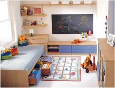28 Bright and Colorful Kids Room Decor Ideas by KIBUC - Home Design and Home Interior