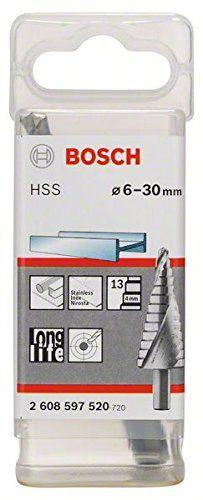 Bosch Pro Stufenbohrer HSS (mit 3-Fl�chen-Schaft, � 6-30 mm, 13 Stufen)