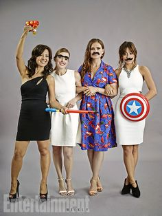 Ming-Na Wen, Elizabeth Henstridge, Hayley Atwell, and Chloe Bennett, Marvel's Agents of S.H.I.E.L.D.