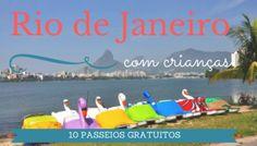 10 passeios gratuitos para fazer no Rio de Janeiro com crianças