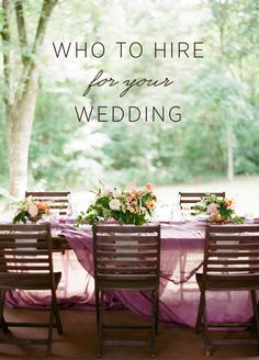 Not sure if you should hire a wedding designer and a wedding planner, or just one of them? Read this ultimate guide about who to hire for your wedding. #weddingbudget #weddingplanningtips #weddingdesigner #weddingplanner #weddingplanningideas