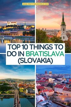 Top Europe Destinations, Cities In Europe, Europe Travel Guide, Best Places To Travel, Cool Places To Visit, Bratislava Slovakia, Visit Usa, European Travel, Travel Around The World