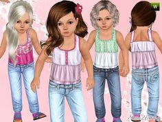OBJnoora :: 259_Toddler_Fresh_Outfit