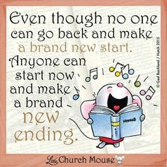 Even Though...Little Church Mouse