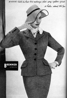 Barb G for February Vogue 1953