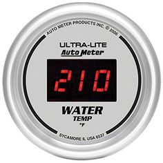 Auto Meter 6537 UltraLite Digital 2116 0300 Degree F Digital Water Temperature Gauge * More info could be found at the image url.