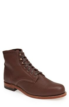 Men's Wolverine '1000 Mile - Centennial' Round Toe Boot