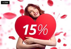 Z okazji Dnia Kobiet mamy dla Was (również Panów ;) ekstra rabat 15% na dowolny projekt domu zamówiony przez www.z500.pl!