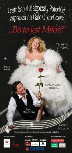 """""""Bo to jest Miłość""""  #TeatrSabat, zaprasza! *niedziela, godz.16:00."""
