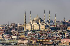 """Blue Mosque - Istanbul Turkey"" by Debra Martz  www. debramartz.com"