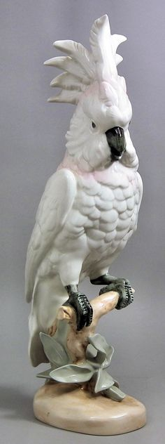 lately I am obsessed with porcelain parrots
