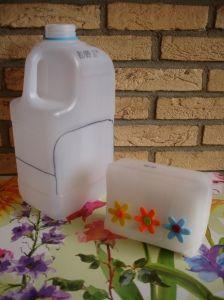 Geschenkdoosje van melkpak via MissGefreubel