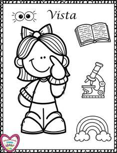 32 Mejores Imágenes De Dibujos Y Sentidos Classroom Preschool Y