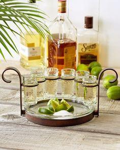 Tommy Bahama - Tequila Shot Glasses - Set of Six