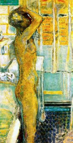 Grey Nude - Pierre Bonnard
