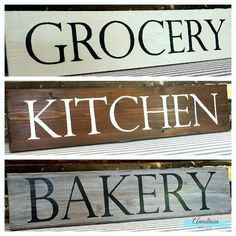 10 Handmade Farmhouse Sign Ideas is part of painting Palette Sign Isn't it funny how sometimes, things just have a way of taking off on their own, without you even having to try That's the way - Vintage Wood Signs, Rustic Signs, Wooden Signs, House Rules Sign, Family Rules Sign, Painted Letters, Hand Painted Signs, Diy House Projects, Wood Projects