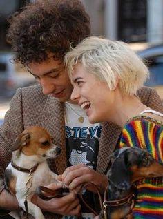 Aww so nice Famous People, Aww, Dogs, Pets, Animals, Daschund, Agyness Deyn, Hair Care, Paul Mccartney