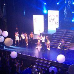 Last time on stage
