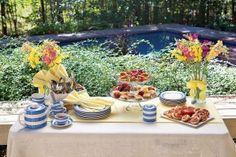 Throw a Buffet-Style Outdoor Tea Party