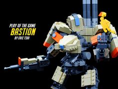 LEGO Bastion   My favorite character in Overwatch.   Eric Tsai   Flickr