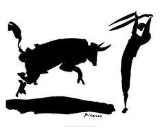 Picasso- Bullfight III