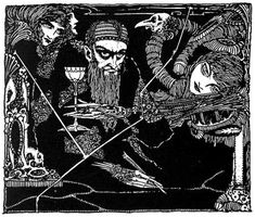 Faust by Johann Wolfgang von Goethe  Illustrated by Harry Clarke