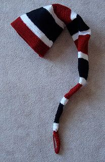 Crochet Long Stocking Cap - Free Pattern!!
