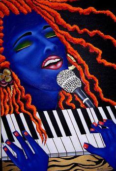 Alicia Keys - Shes Magic by Nannette Harris