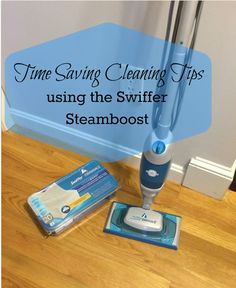 Holiday clean up got you down? Check out these three time saving cleaning tips #steamboost #ad