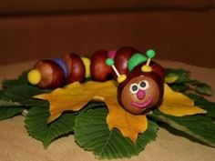 Chestnuts Art - Your Kids Will Love It - Find Fun Art Projects to Do at Home and Arts and Crafts Ideas Halloween Crafts For Kids, Kids Crafts, Arts And Crafts, Paper Crafts, Christmas Crafts, Fall Art Projects, Projects For Kids, Craft Projects, Autumn Crafts