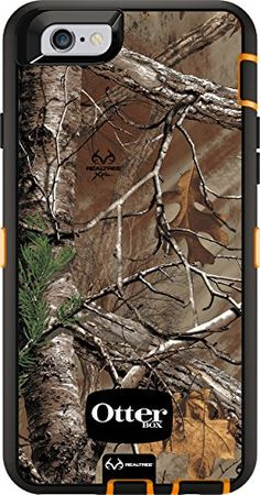 low priced 1bb05 ce092 OtterBox Defender iPhone 6 Fitted Hard Shell Case - Or Camo : iPhone ...