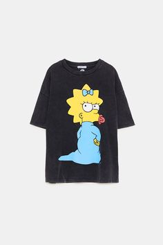 Simpsons Shirt, The Simpsons, Blusas Oversized, Retro Outfits, Zara Tops, Casual, Shirt Designs, My Style, T Shirt